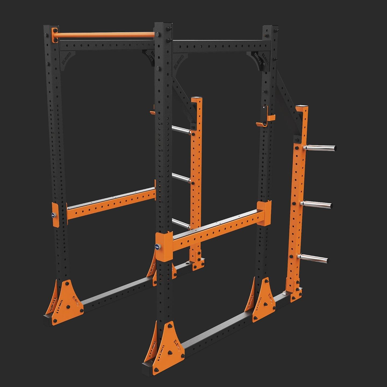 Power Rack Eleiko: Eleiko Power Rack Schwarz/orange (neu)